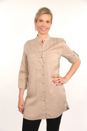 Longbluse Toffee